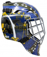 Martin Brodeur Signed Blues Full-Size Goalie Mask (Fanatics Hologram) at PristineAuction.com