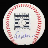 Al Kaline Signed Hall Of Fame Logo Baseball (JSA COA) at PristineAuction.com