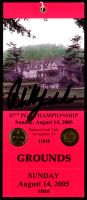 Phil Mickelson Signed 2005 PGA Championship Ticket (JSA COA) at PristineAuction.com