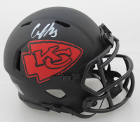Clyde Edwards-Helaire Signed Chiefs Eclipse Alternate Speed Mini Helmet (JSA COA) at PristineAuction.com