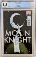 "2014 ""Moon Knight"" Issue #1 Scottie Young Variant Marvel Comic Book (CGC 8.5) at PristineAuction.com"