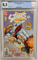 "1999 ""Stars and S.T.R.I.P.E."" Issue #1 DC Comic Book (CGC 8.5) at PristineAuction.com"