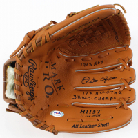 Pete Rose Signed Rawlings Baseball Glove with Multiple Inscriptions (PSA COA) at PristineAuction.com