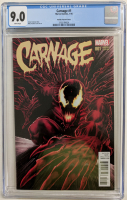 "2016 ""Carnage"" Issue #1 Mike Perkins Variant Marvel Comic Book (CGC 9.0) at PristineAuction.com"