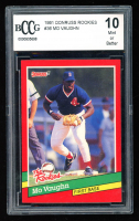 Mo Vaughn 1991 Donruss Rookies #36 (BCCG 10) at PristineAuction.com