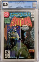 "1982 ""Batman"" Issue #520 DC Comic Book (CGC 8.0) at PristineAuction.com"