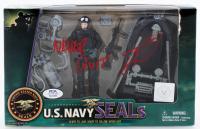 "Robert O'Neill Signed ""U.S. Navy Seals"" Figurine Inscribed ""Never Quit!"" (PSA COA) at PristineAuction.com"