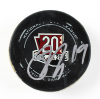 Shane Doan Signed Coyotes Game Used Hockey Puck with Inscription (PSA COA & Fanatics Hologram) at PristineAuction.com
