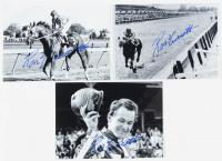 Lot of (3) Ron Turcotte Signed 5x7 Photos (JSA ALOA) at PristineAuction.com
