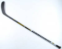 "Torey Krug Signed Game-Used Warrior Hockey Stick Inscribed ""Game Used"" (Krug COA & YSMS COA) at PristineAuction.com"
