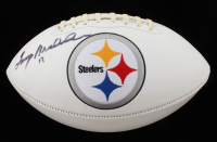 Terry Bradshaw Signed Chargers Logo Football (Beckett COA) at PristineAuction.com