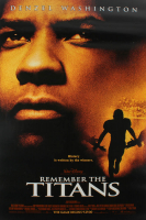 """Remember the Titans"" 27x40 Original Movie Poster at PristineAuction.com"
