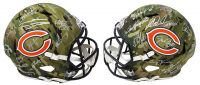 Bears Super Bowl XX Champions Full-Size Camo Speed Helmet Signed By (28) WIth Mike Ditka, Jim McMahon, Mike Singletary, Dan Hampton (Schwartz Sports COA) at PristineAuction.com