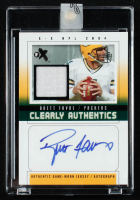 Brett Favre 2004 E-X Clearly Authentics Jersey Autographs #BF1 at PristineAuction.com