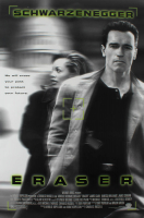 """Eraser"" 27x40 Original Movie Poster at PristineAuction.com"