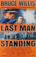 """Last Man Standing"" 27x40 Original Movie Poster at PristineAuction.com"