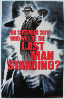 """Last Man Standing"" 27x40 Original Teaser Movie Poster at PristineAuction.com"