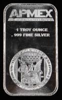APMEX 1 Troy Oz. Fine Silver Bar at PristineAuction.com