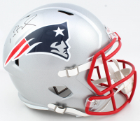Tom Brady Signed Patriots Full-Size Speed Helmet (Tristar Hologram) at PristineAuction.com