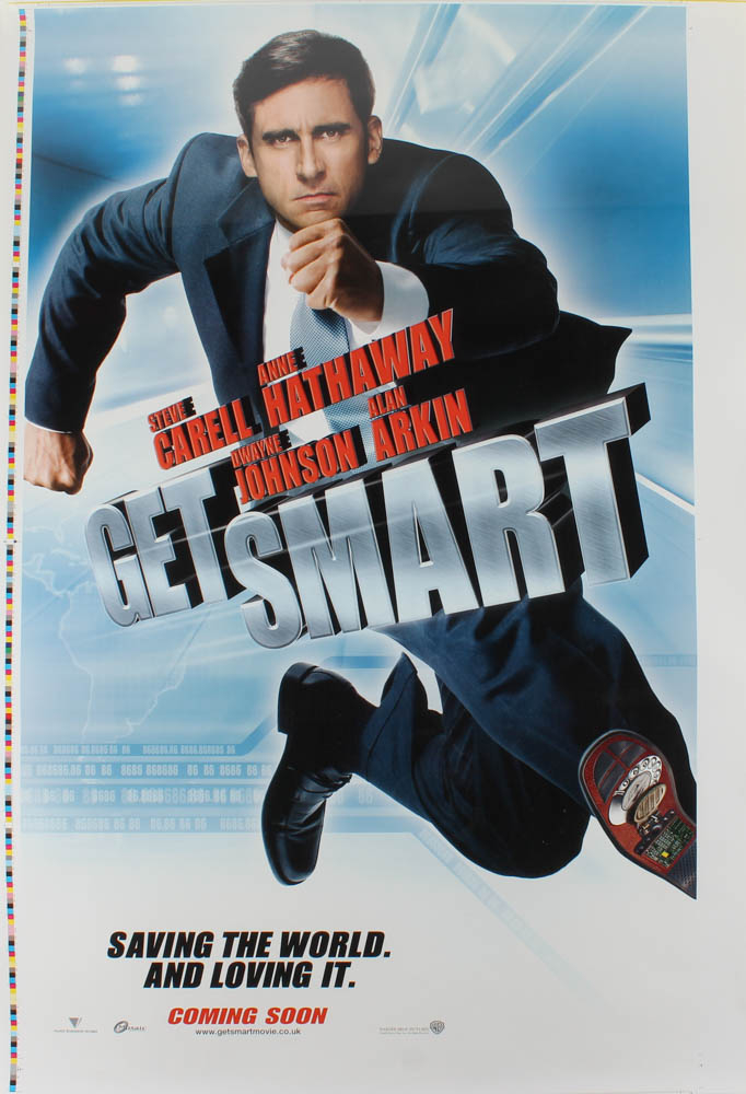"""Get Smart"" 27x40 Limited Edition Uncut UK Movie Poster at PristineAuction.com"
