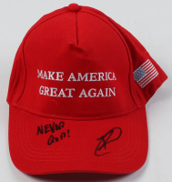 "Rob O'Neill Signed ""Make America Great Again"" Adjustable Hat Inscribed ""Never Quit!"" (PSA COA) at PristineAuction.com"