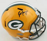 Brett Favre Signed Packers Full-Size Speed Helmet (Radtke COA & Farve Hologram) at PristineAuction.com