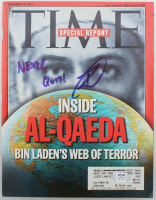"Robert O'Neill Signed 2001 ""Time"" Magazine Inscribed ""Never Quit!"" (PSA COA) at PristineAuction.com"