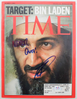 "Robert O'Neill Signed 2011 ""Time"" Magazine Inscribed ""Never Quit!"" (PSA COA) at PristineAuction.com"