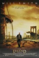 """""""I Am Legend"""" 27x40 UK Teaser Movie Poster at PristineAuction.com"""