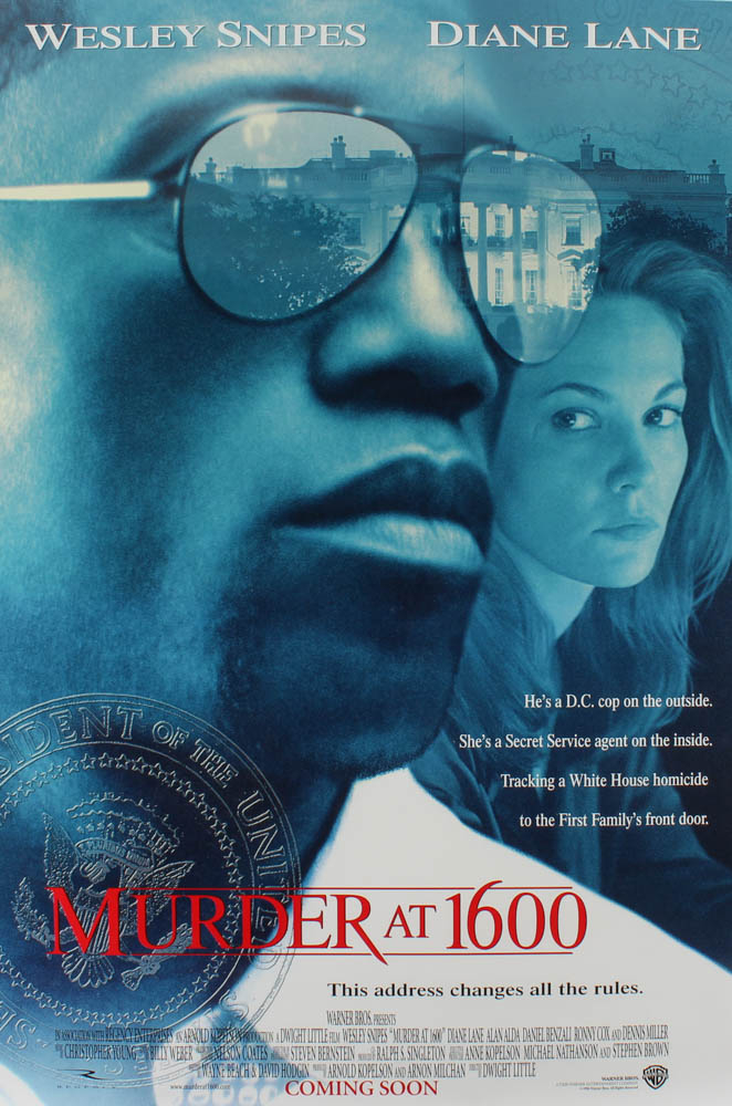 """Murder at 1600"" 27x40 Movie Poster at PristineAuction.com"