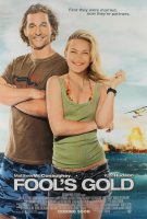 """Fool's Gold"" 27x40 UK Teaser Movie Poster at PristineAuction.com"