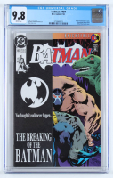 "1993 ""Batman"" Issue #497 Marvel Comic Book (CGC 9.8) at PristineAuction.com"