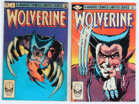 "Lot of (2) 1982 ""Wolverine"" Volume 1 Marvel Comic Books at PristineAuction.com"
