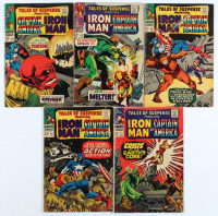 """Lot of (5) 1966 """"Tales Of Suspense"""" Marvel Comic Books #86-90 at PristineAuction.com"""
