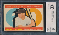 Mickey Mantle 1960 Topps #563 All-Star (BCCG 9) at PristineAuction.com