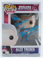 "Alex Trebek Signed ""Jeopardy"" #776 Funko Pop! Vinyl Figure Inscribed ""The Answer Is"" (PSA Hologram) at PristineAuction.com"