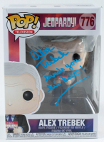 "Alex Trebek Signed ""Jeopardy"" #776 Funko Pop! Vinyl Figure Inscribed ""Sends You His Best!"" (PSA Hologram) at PristineAuction.com"