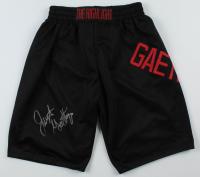 Justin Gaethje Signed UFC Trunks (JSA COA) at PristineAuction.com