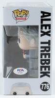 """Alex Trebek Signed """"Jeopardy"""" #776 Funko Pop! Vinyl Figure Inscribed """"The Answer Is"""" (PSA Hologram) at PristineAuction.com"""