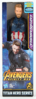 "Chris Evans Signed ""Avengers Infinity War"" Captain America Action Figure (Beckett LOA) at PristineAuction.com"