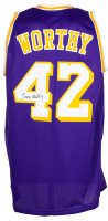 James Worthy Signed Jersey (JSA COA) at PristineAuction.com