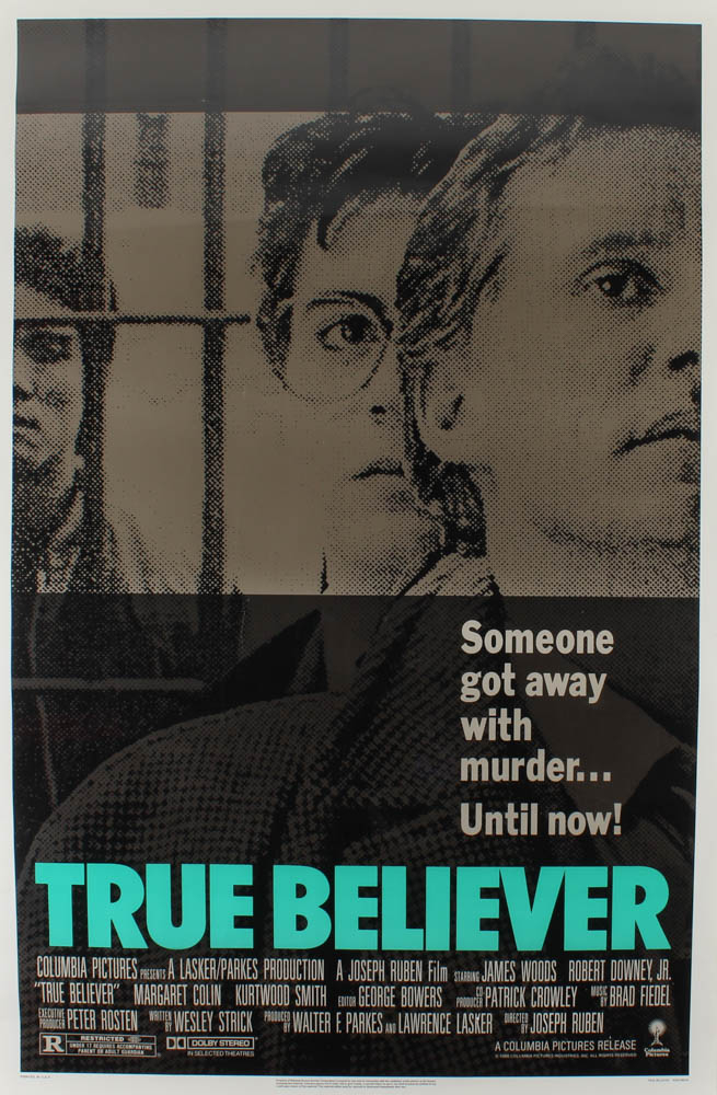 """""""True Believer"""" 27x40 Movie Poster at PristineAuction.com"""