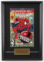 "Vintage 1990 ""The Amazing Spider-Man: Torment Part 1"" 12x17 Custom Framed Factory Sealed First Issue Marvel Comic Book at PristineAuction.com"