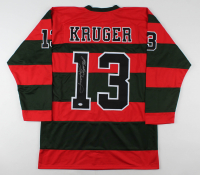 Heather Langenkamp Signed Jersey (PSA COA) at PristineAuction.com