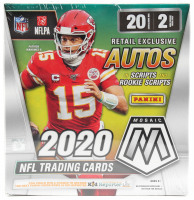 2020 Panini Mosaic Football Mega Box (Walmart) at PristineAuction.com