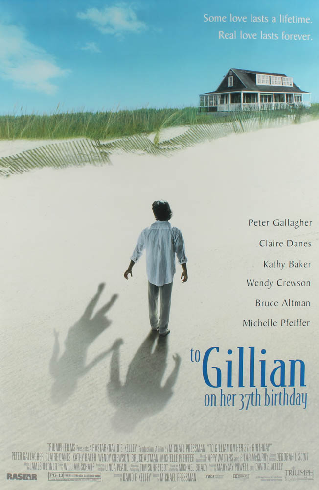"""""""To Gillian on Her 37th Birthday"""" 27x40 Movie Poster at PristineAuction.com"""