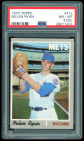 Nolan Ryan 1970 Topps #712 (PSA 8)(OC) at PristineAuction.com