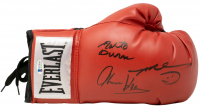 "Roberto Duran, Thomas ""Hitman"" Hearns & Sugar Ray Leonard Signed Everlast Boxing Glove (Beckett COA) at PristineAuction.com"