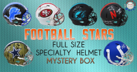 Schwartz Sports Football Superstar Signed Full Size Specialty Helmet Mystery Box – Series 6 (Limited to 100) at PristineAuction.com