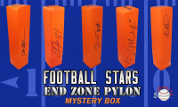 Schwartz Sports Football Star Signed Endzone Pylon Mystery Box - Series 4 (Limited to 150) at PristineAuction.com